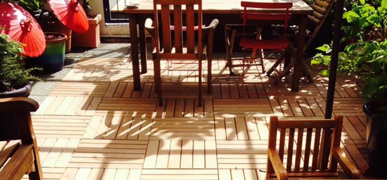Costruire Un Tavolo Da Giardino.Come Realizzare Un Decking Per Il Tuo Giardino Zilio Interni