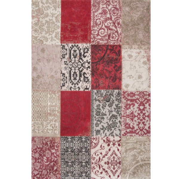Tappeto 8985 Antwerp Red di Carpet Edition