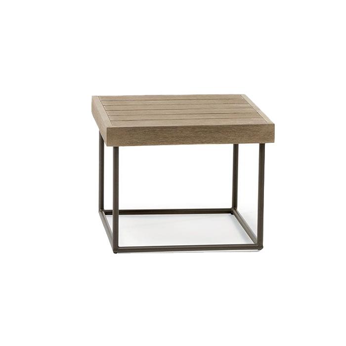 Tavolo basso quadrato Allaperto Urban di Ethimo