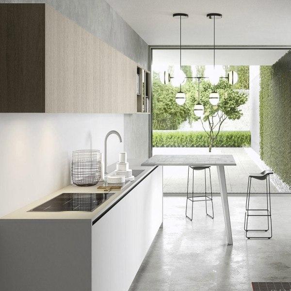 """Cucina """"Ambiente N – 3.1"""" di Copatlife"""