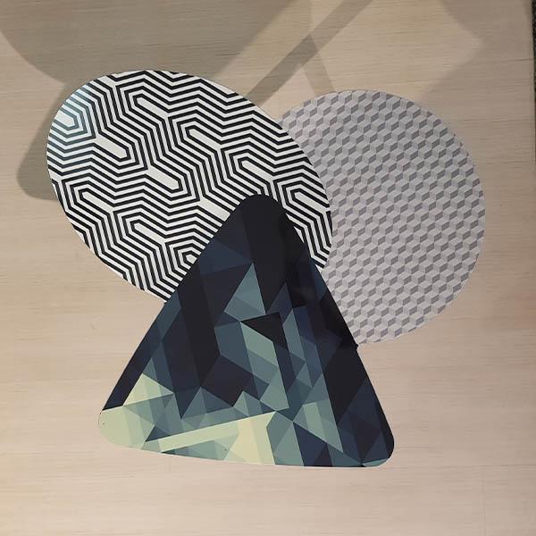 Tavolino Doppler High e Low di Bonaldo