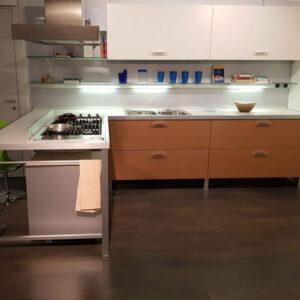 Cucina ad angolo moderna Planet Varenna